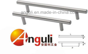T Bar Handle Solid Hollow Stainless Steel Handle pictures & photos