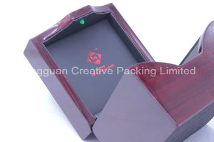 High Quality Lacquered Wooden Watch Display Box with LED Light pictures & photos
