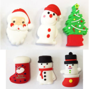 USB Flash Drive Pendrives USB Flash Card Christmas Series Snowman USB Stick USB Memory Card USB 2.0 Thumb Drive Flash Disk Memory Stick pictures & photos