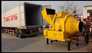 Diesel Engine Hydraulic Lifting Hopper Concrete Mixer on Sale pictures & photos