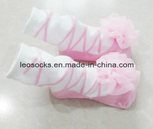 High Quality Baby Socks Girl Children Lace Cotton Socks pictures & photos