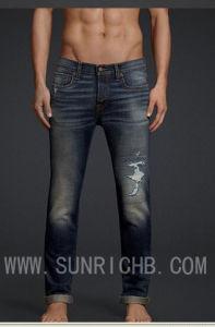 Men Jeans (J04003) pictures & photos