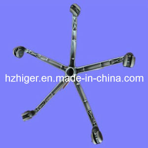 Aluminum Die Casting Furniture Legs with Five Feet pictures & photos