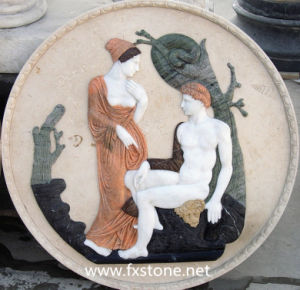 Relief Marble Sculpture Marble Carving (MRL-002) pictures & photos