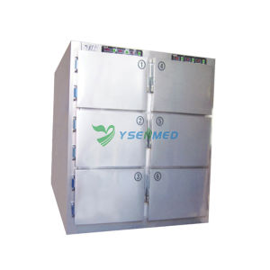Ysstg0106 Hospital Equipment Medical 6 Bodies Stainless Steel Mortuary pictures & photos
