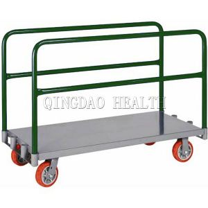 "30""X60"" Wood Deck Platform Handtruck pictures & photos"
