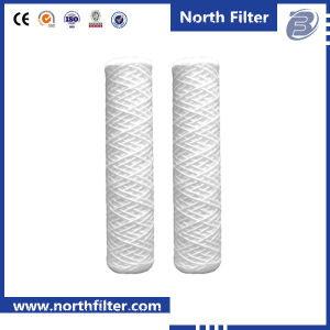 Top-Rated 10′′ 20′′ 30′′ 40′′ PP Wire Wound Filter Cartridge pictures & photos