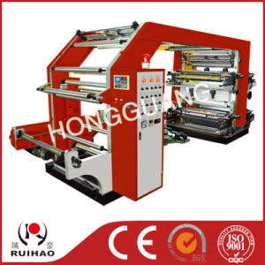High Speed 4 Colore Flexo Plastic Printing Machine pictures & photos