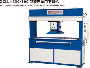 Hot Sale 25t Hydraylic Travelling Head Cutting Preses for Shoes Making pictures & photos
