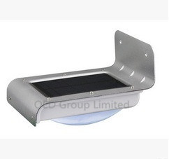 LED Solar Wall Light Outdoor IP65 LED Sensor Garden Solar Lighting pictures & photos