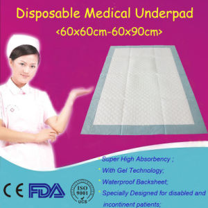 2017 Top Sale 60X90cm Disposable Medical Underpad pictures & photos