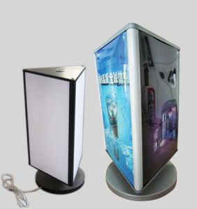 Table Rotating Light Box for Advertising