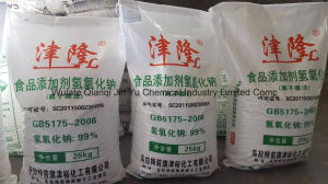 """Jin Long"" - 99% Caustic Soda Flakes - Food Grade pictures & photos"