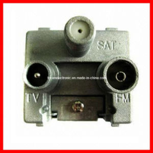 5-2450MHz 3 Gang TV/FM/Sat TV Satellite Wall Outlet pictures & photos