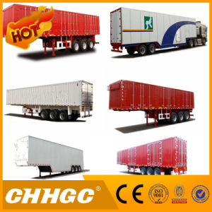 Light Type 2 Axle Van Cargo Semi-Trailer pictures & photos