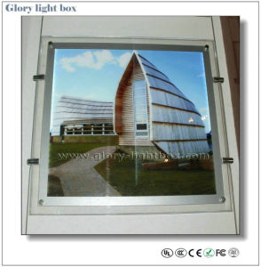 Double Side Advertising Crystal Light Box Hanging Display (SJ022) pictures & photos