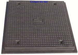 Cast Ductile Iron Square Manhole Cover (BC. D-A16) pictures & photos