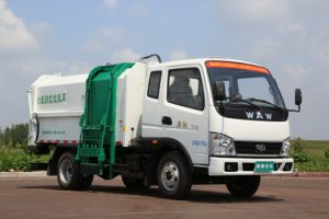 Hydraulic Lifter Garbage Truck pictures & photos