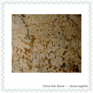 Granite Building Material Tile (Golden flower) pictures & photos
