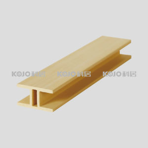 Waterproof Solid Wood Plastic Composite WPC Connecting Frame (YK-41) pictures & photos