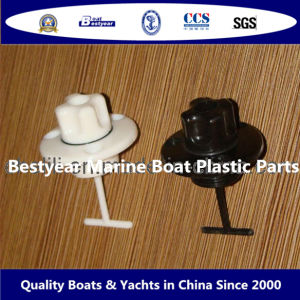 Marine Boat Plastic Parts-Diamond-Shaped/Round-Shaped Plastic Water Drain Valve pictures & photos