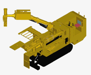 CMM2-20 Hydraulic Bolting Rig for Coal Mine pictures & photos