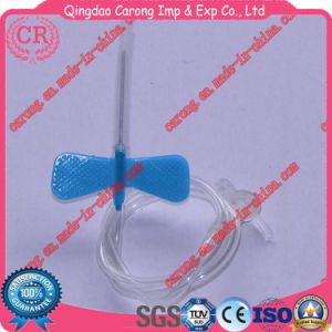 Disposable Sterile Butterfly Type IV Infusion Scalp Vein Set Cheap pictures & photos