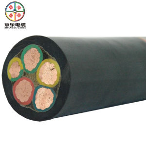 5 Conductor Rubber Flexible Cable, Machine Cable 450/750V
