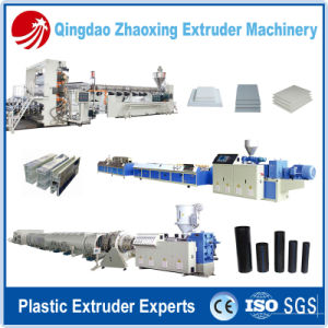 Expert Manufacturer of Plastic Pipe / Sheet / Profile Production Line for PP PE PVC Material pictures & photos