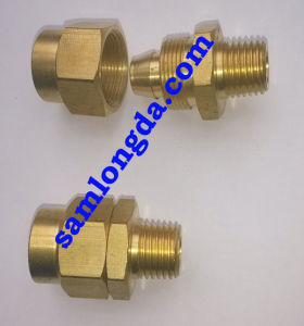 NPT Brass Fittings/ PU Tubing Fitting/ Air Hose Coupling pictures & photos