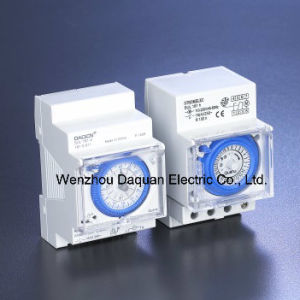 24 Hour Daily Programmable 16A 110V-240V AC Analog Mechnical  Timer Switch