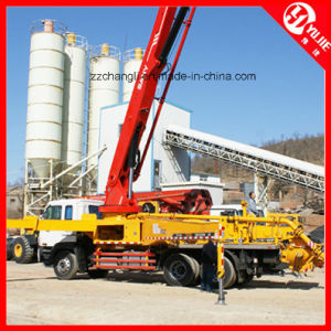 40m3/H Small Flexible Truck Mounted Concrete Pump for Sale pictures & photos