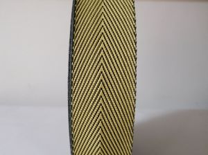 35mm Fire Retardant Aramid Fiber Webbing for Special Garment Accessories pictures & photos