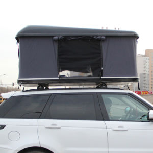 Camping off Road Fiberglass Hard Shell Trailer Tent Car Roof Top Tent for Sale pictures & photos