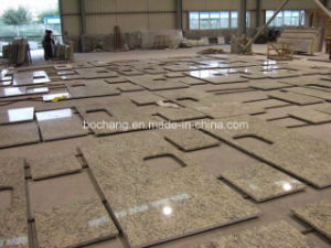 Tiger Skin Yellow Granite Countertop pictures & photos