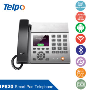 Popular Smart Bluetooth Office Pad Telephone with 3.5inch Screen