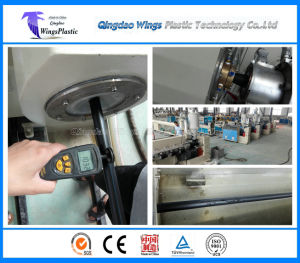 Plastic HDPE Water Supply Pipe Production Line / Extruder Machine pictures & photos