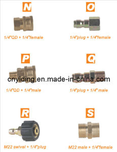 """Brass Quick Connector (1/4""""QD + 1/4""""female) pictures & photos"""