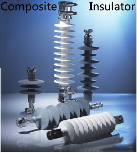 IEC 66kv 100kn Transmission Line Tension Composite Insulator pictures & photos