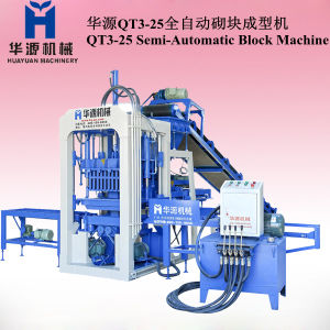 Block Making Machine, Concrete Block Making Machine Qt3-25