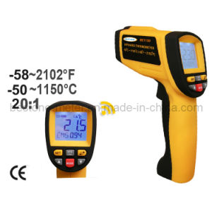 Digital Non-Contact High Temperature Infrared Thermometer (BE1150) pictures & photos