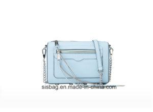 High Quality PU Zip Crossbody Bag Fashion Ladies Bag pictures & photos