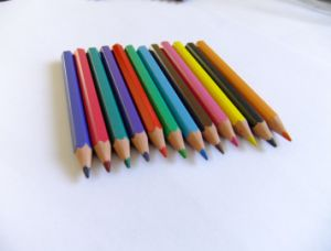 Half Size Mini Color Pencil