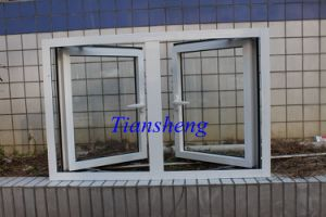 Powder Coated White Color Aluminum Casement Window for Commercial and Residential pictures & photos
