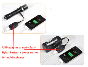 Mobile Phone Charging Zoom Flashlight pictures & photos