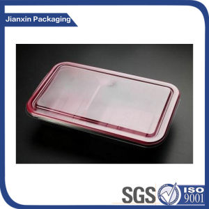 2 Compartment Food Packaging and Plastic Material Lunch Box pictures & photos