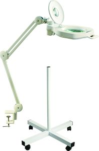 Table Stander Lamp with Magnifying Glass with 1PC Superbright LED pictures & photos