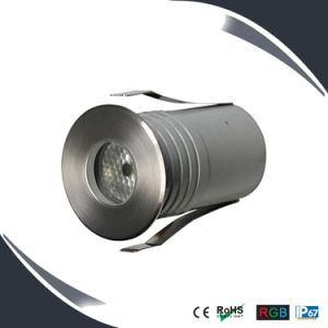 3W Waterproof LED Underground Light, RGB Inground Light, Deck Light pictures & photos