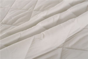 Soft Home Textile Polyester Fabric Wadding Quiltd Mattress Pad pictures & photos