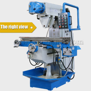 Hot Sale Rotate Gear Head Manual Milling Machine pictures & photos